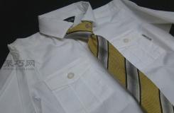 懒人领带DIY:创意按钮式领带改造教程