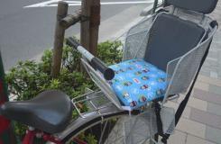 自行车儿童后座椅座垫手工制作教程