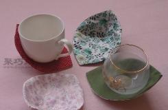 手工制作布艺水杯托垫教程 DIY小清新款杯垫
