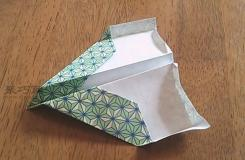 用纸怎样折叠飞的远的纸飞机图解教程