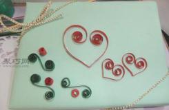 DIY礼品包装盒爱心装饰图解 礼物盒折纸小创意