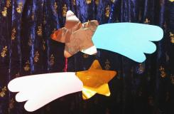 节日装饰小挂饰 教你制作纸艺流星折纸