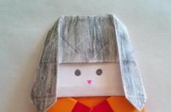 教你用折纸制作可爱的折纸胖娃娃