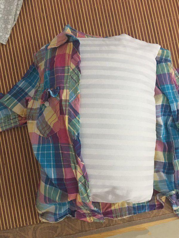 旧衬衫改造抱枕 第4步