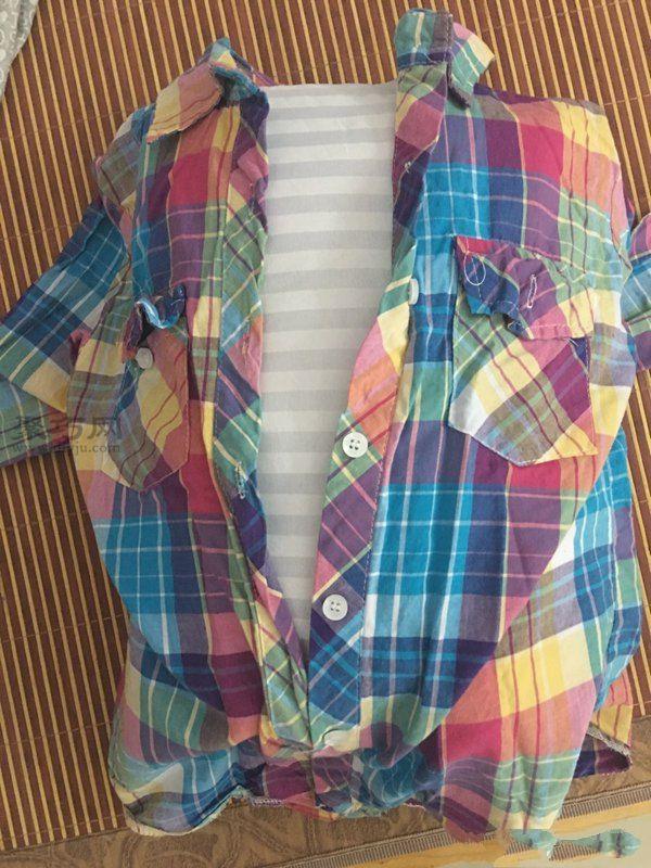 旧衬衫改造抱枕 第5步