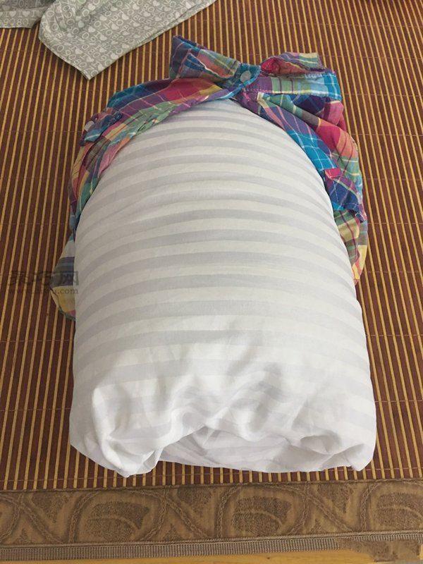 旧衬衫改造抱枕 第8步