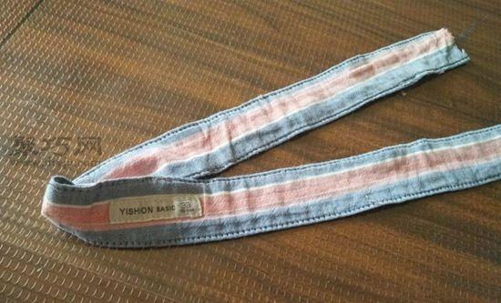 旧牛仔裤改造隔热手套 第8步