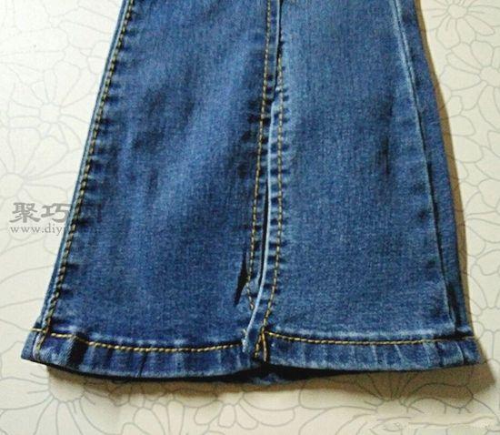 改造牛仔裤 第2步