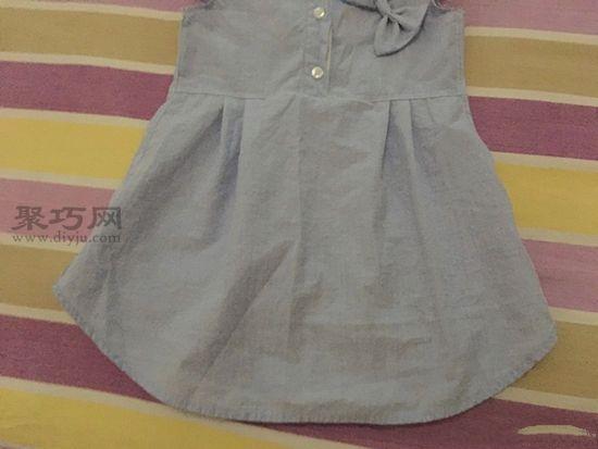 旧衬衫改女童裙子 第7步