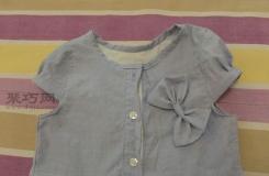 旧纯棉衬衫千万别扔,轻松五步改造成文艺范女童裙子!