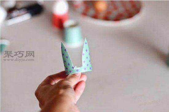 一次性纸杯制作人偶的教程2