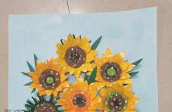 一次性纸杯创意大改造 精美纸艺太阳花制作教程