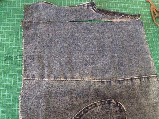 牛仔裤改包包 第6步