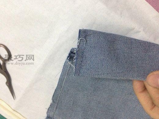 牛仔裤改包包 第8步