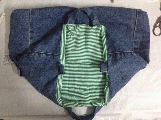 牛仔裤改包包 第16步
