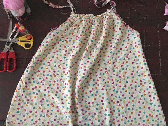 旧睡衣改造甜美靠垫 第1步