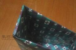 怎样用废旧硬纸盒手工制作书立