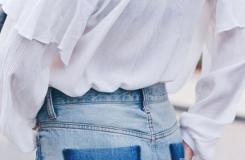 牛仔裤裤兜小小改造,变身个性十足牛仔裤!