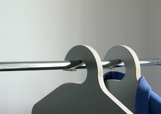 可做椅子的多功能衣架(图3)