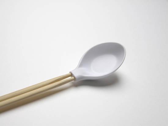 创意餐具-汤勺和筷子的巧妙组合(图2)