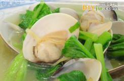 蛤蜊烧芥菜的做法 学烧蛤蜊的美食达人赶快学习