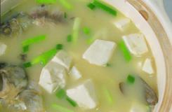 牡蛎豆腐汤的做法及食疗效果