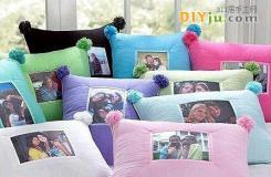 DIY布艺靠垫/抱枕 让家展现与众不同的布艺风采