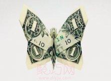 钱币创意折纸欣赏:各国用钱折动物