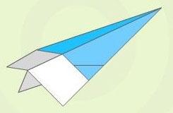 怎么折纸飞机飞得最远 简单折纸飞机飞得久教程