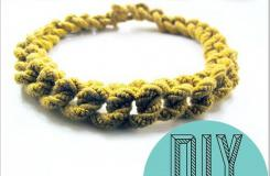 手工编织情侣手链:如何编织绳手链