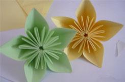 樱花折纸教程:简单樱花折纸大全图解