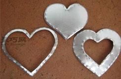 易拉罐手工制作大全 易拉罐废物利用DIY爱心、星星、雪花