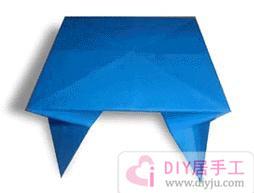 手工折纸小桌子图解教程
