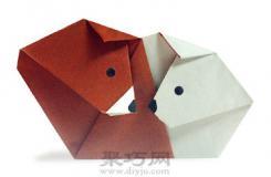 熊和北极熊简单手工折纸大全教程