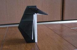立体企鹅的折叠方法:教你怎么折马达加斯加的企鹅