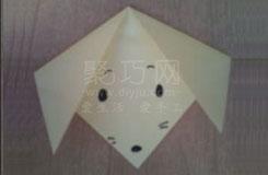 如何折纸狗脸 最简单手工折纸小狗脸图解教程