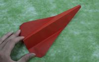 折纸战斗机中最简单的一种纸飞机折法