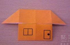 超简单纸房子的制作方法 折叠小时候心中的家