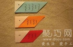 最简单日本鲤鱼旗折纸图解教程 日本男孩节折纸