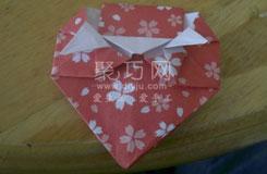 折纸水果教程大全 怎么折纸草莓图解教程