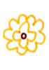 重叠花瓣的画法