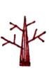 树枝条很多的画法