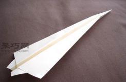 战斗机折纸方法图解教程 教你怎么折战斗机