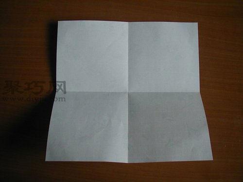 千纸鹤的折法第1步