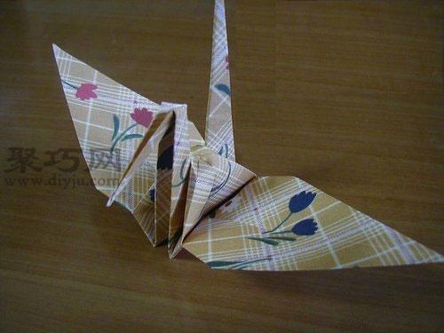 千纸鹤的折法图解