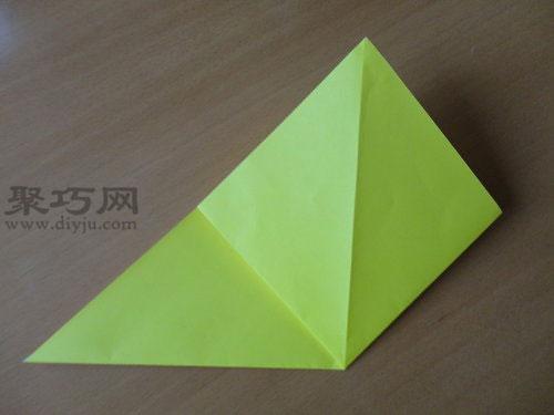 手工折纸手表图解教程