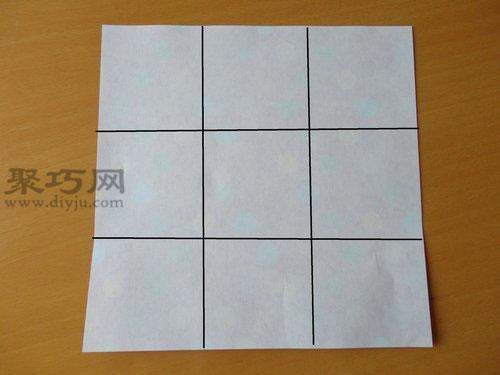 纸陀螺的折法图解 6步学会纸陀螺的制作方法