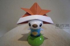 教大家一个帅气可爱的头盔折纸方法