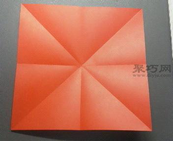6步学会怎么折康乃馨