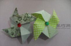 如何叠纸风车?超简单学叠纸风车图解教程